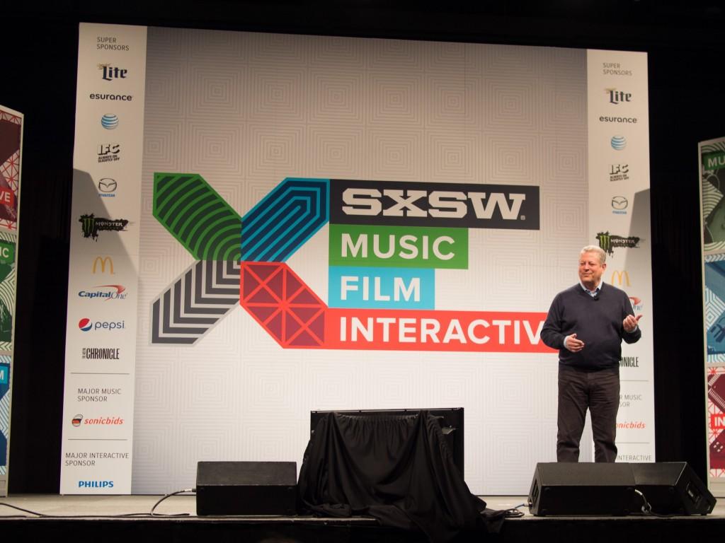Al Gore, SXSW 2015 Austin