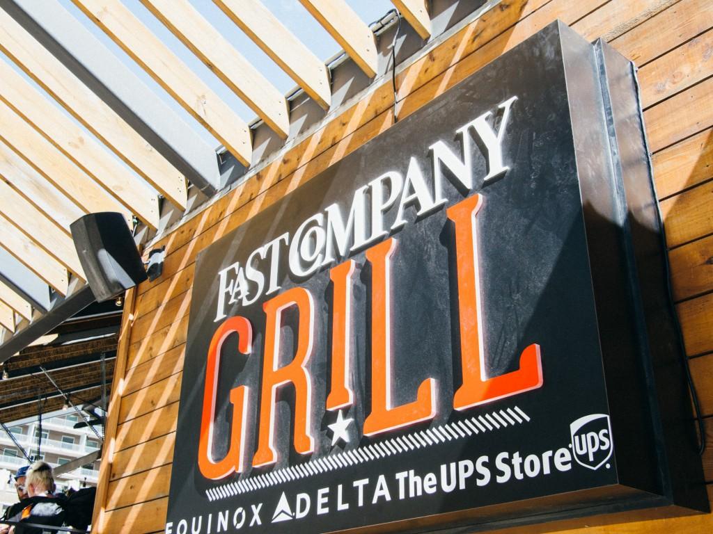 FastCompany Grill, SXSW 2015 Austin